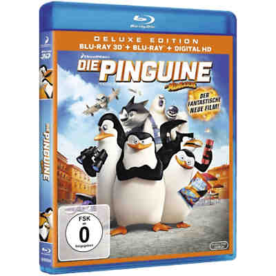 BLU-RAY Die Pinguine aus Madagascar (3D Version + 2D)