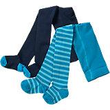 KIDIVIO Baby Strumpfhosen Doppelpack für Jungen