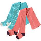 KIDIVIO Baby Strumpfhosen Doppelpack für Mädchen