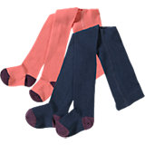 KIDIVIO Strumpfhosen Doppelpack für Mädchen