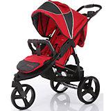 Прогулочная коляска Baby Care Jogger Cruze, красный