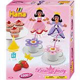 HAMA 3233 midi-Geschenkset Prinzessinnen Party, ca. 2.500 Stück & Zubehör