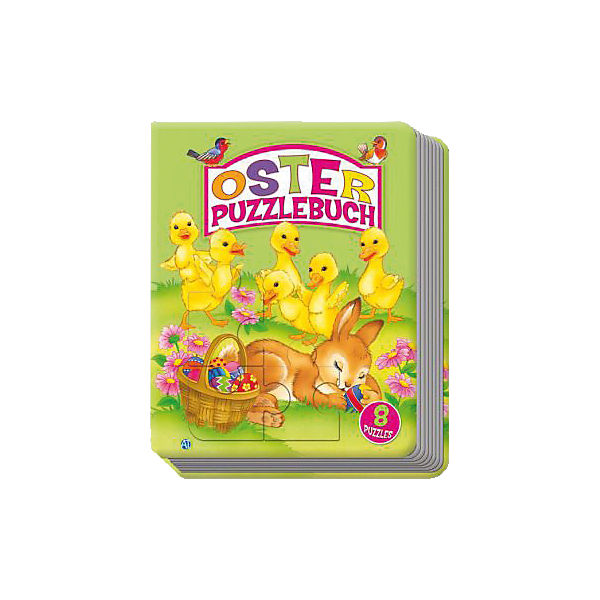 Oster-Puzzlebuch mit 8 Puzzles