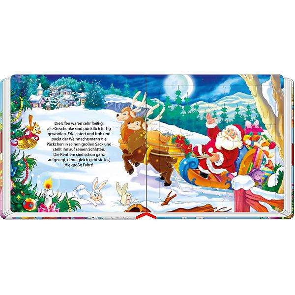 weihnachts puzzlebuch wunderbare weihnachtszeit tr tsch. Black Bedroom Furniture Sets. Home Design Ideas