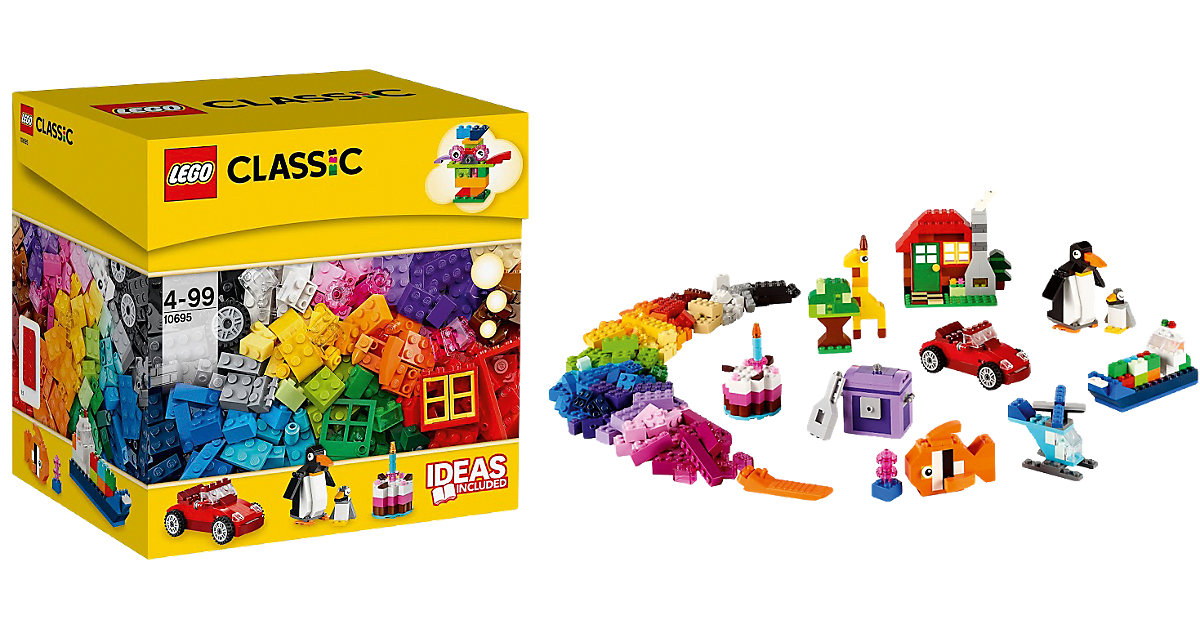 lego classic bausteine box 10695 preisvergleich. Black Bedroom Furniture Sets. Home Design Ideas