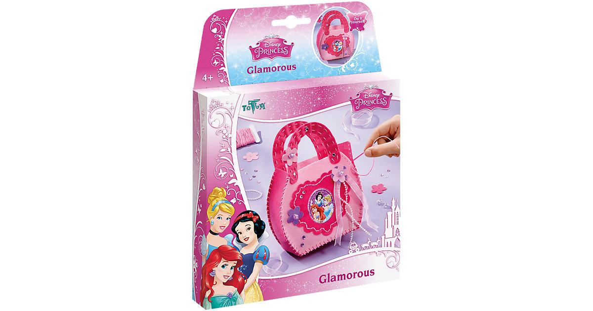 Kreativset Tasche basteln Glamorous Disney Princess