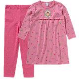 PRINZESSIN LILLIFEE Set Kinder Nachthemd + Leggings