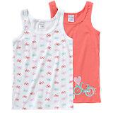 SCHIESSER Unterhemden Doppelpack für Mädchen