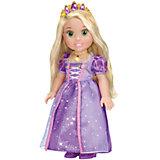 """Кукла """"Рапунцель со светящимся амулетом"""", 37 см, со звуком, Принцессы Дисней, Карапуз"""