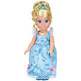"""Кукла """"Золушка со светящимся амулетом"""", 37 см, со звуком, Принцессы Дисней, Карапуз"""