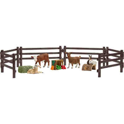 Schleich 21052 Farm World: Playset Streichelzoo