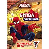 """Развивающая игра с многоразовыми наклейками """"Человек-паук"""""""
