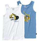 SCHIESSER Unterhemden Doppelpack für Jungen