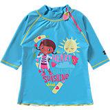 Kinder Schwimmshirt Doc McStuffins mit UV-Schutz