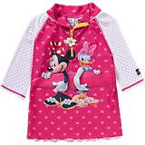 SWIMPY Baby Minnie Mouse Badeshirt mit UV-Schutz für Mädchen