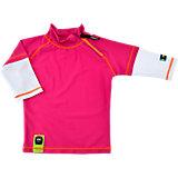 SWIMPY Baby Badeshirt mit UV-Schutz für Mädchen