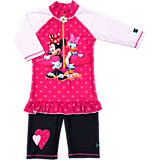 SWIMPY Baby Minnie Mouse Badeanzug mit UV-Schutz für Mädchen