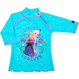 SWIMPY Frozen Badeshirt mit UV-Schutz für Mädchen