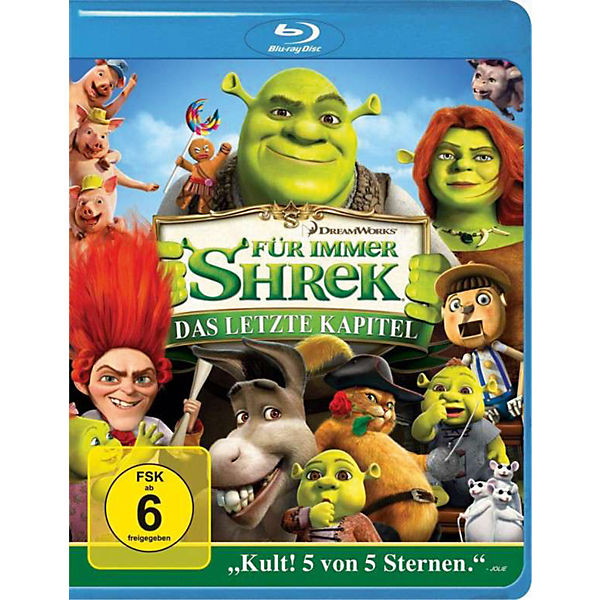 BLU-RAY Shrek 4