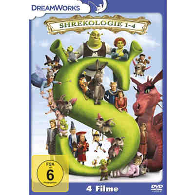 DVD Shrek Quadrilogy