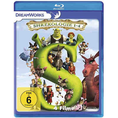 BLU-RAY Shrek Quadrilogy