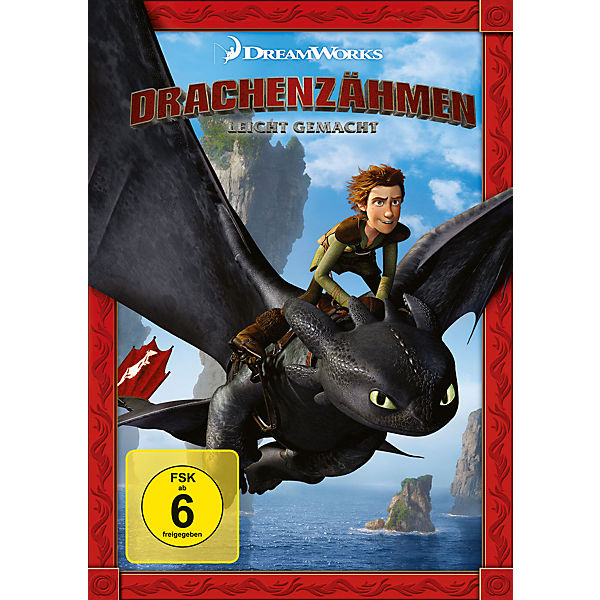 dvd drachenzähmen leicht gemacht dragons  mytoys