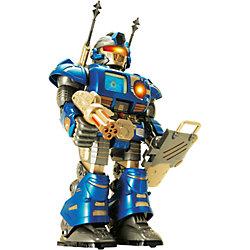 """Робот-сержант"""" синий, на и/к управлении, 38 см, HAP-P-KID"""