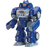 Робот трансформер синий, HAP-P-KID