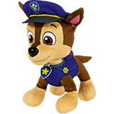 Большой плюшевый щенок со съемным шлемом Чейз, Щенячий патруль, Spin Master