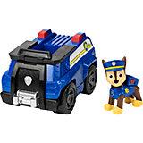 Большой автомобиль спасателя Гонщика, со звуком, Щенячий патруль, Spin Master