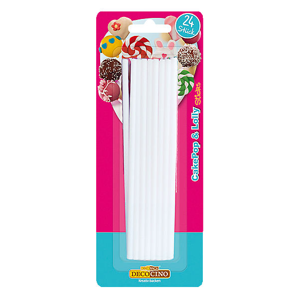 Cake Pop & Lolly Sticks, 24 Stück