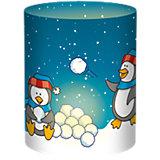 Mini-Tischlichter Pinguine, 10 Stück