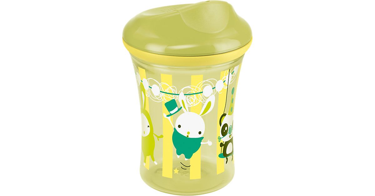 Trinkbecher Easy Learning Vario Cup, PP, 250 ml, Trinkaufsatz/Trinkrand, pistazie
