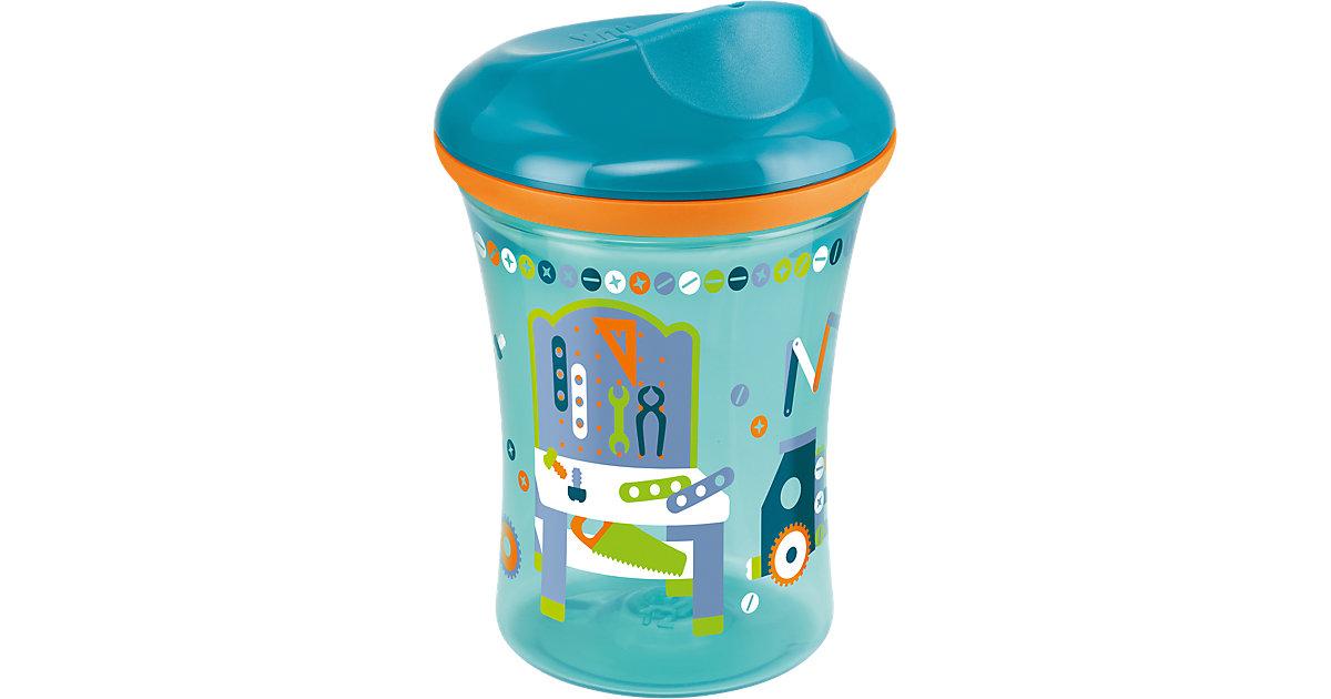 Trinkbecher Easy Learning Vario Cup, PP, 250 ml, Trinkaufsatz/Trinkrand, petrol