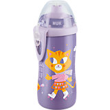 Trinkflasche Junior Cup, 300ml, Push-Pull-Tülle, lila
