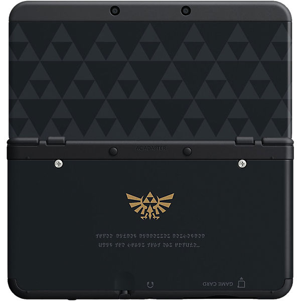 New 3DS Zierblende - Zelda Triforce