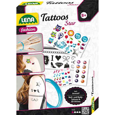 Kreativset Tattoos Star