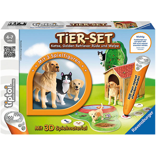 tiptoi® Spielfiguren Tier-Set Golden Retriever