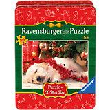 """Пазл """"Рождественский щенок"""", 80 деталей, Ravensburger"""