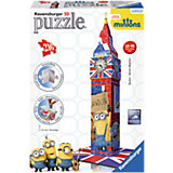 3D Gebäude Puzzle Big Ben Minions Edition 216 Teile