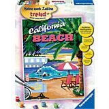 Malen nach Zahlen California Beach 30 x 40 cm