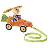 Sigikid 41085 Karottenmobil mit Hase - Nachziehen - PlayQ