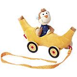 Sigikid 41086 Bananenmobil mit Affe - Nachziehen - PlayQ