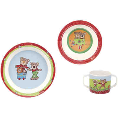Geschirr-Set Wild + Berry Bear