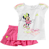 adidas Performance Baby Sommer Set Minnie Mouse: T-Shirt + Rock für Mädchen