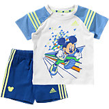 adidas Performance Baby Sommer Set Mickey Mouse: T-Shirt + Shorts für Jungen