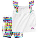 adidas Performance Baby Set: Top + Shorts für Mädchen