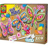 24984 FUNmais Kreativset Schmetterlinge, 300 Maisbausteine