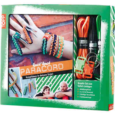 Kreativset Paracord Kreativ-Set Paracord