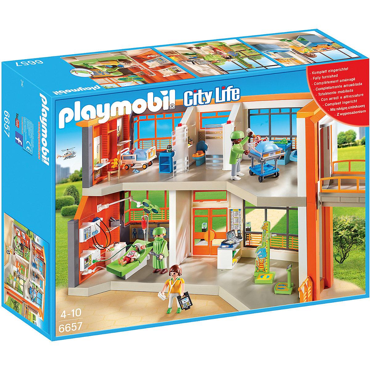 [mytoys] In offerta: Playmobil 6657 - Ospedale Pediatrico Attrezzato per 66,92€